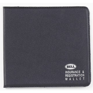 Bell 11001-8 Black Insurance & Registration Wallet
