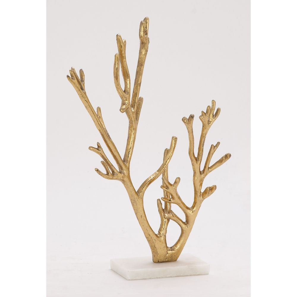 Studio 350 Artistic Metal Marble Gold Tree (Dcor), Black ...