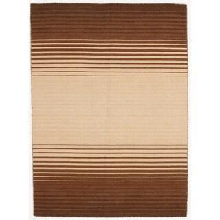 Handmade Flat Weave Area Rug  (5' x 7')