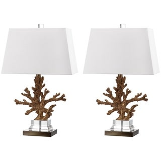 Safavieh Lighting 23.5-inch Bashi Table Lamp (Set of 2)