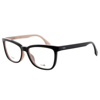 Fendi FF 0122 MG1 Black on Pink Plastic 53mm Eyeglasses
