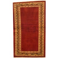 Herat Oriental Afghan Hand-knotted Gabbeh Wool Area Rug - 3' x 5'2