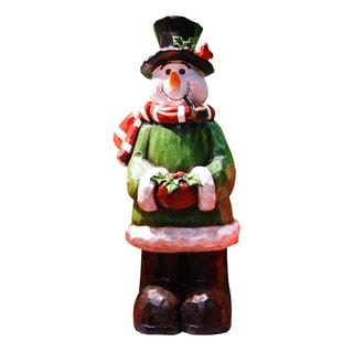 "18""H Snowman Garden Statue"