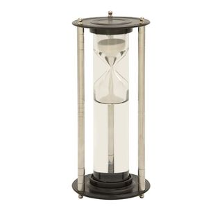 Strick & Bolton Buri Aluminum and Glass Floating Sand Timer