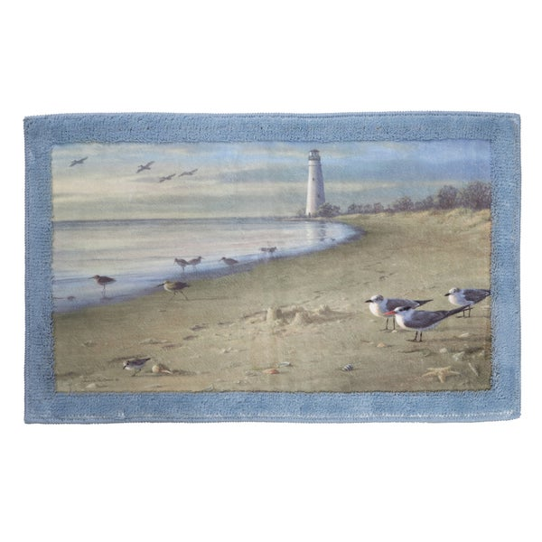 """Sunset Beach"" Bathroom Rug (21"" x 34"")"