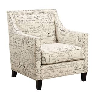 Picket House Emery Chair French Script