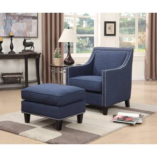 Picket House Emery Chair & Ottoman