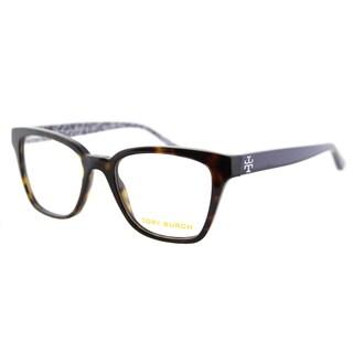 Tory Burch TY 2052 1348 Dark Tortoise on Navy Plastic Square 49mm Eyeglasses