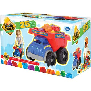Big Block Dump Truck With Blocks