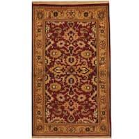 Handmade Herat Oriental Indo Mahal Wool Area Rug - 3' x 5' (India)