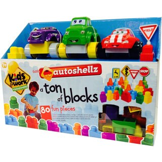 Kids at Work Autoshellz Ton of Shellz Deluxe Set (80 Pieces)