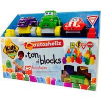 Kids at Work Autoshellz Ton of Shellz Deluxe Set (80 Pieces)