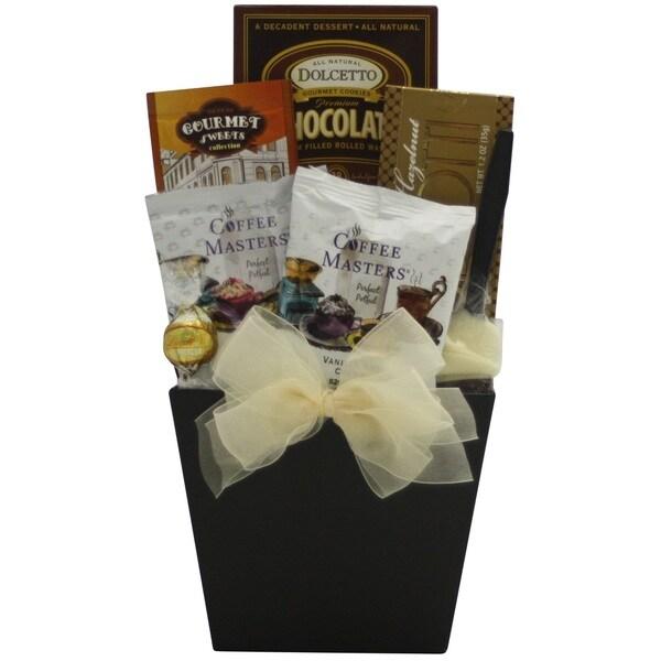 'Coffee Delights' Gourmet Coffee Gift Basket