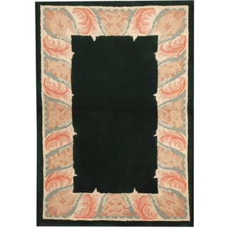 Herat Oriental Indo Hand-tufted Tibetan Wool Area Rug (3'6 x 5'6)