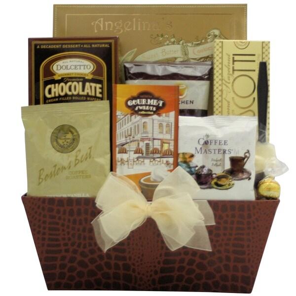 Coffee Break:Gourmet Gift Basket