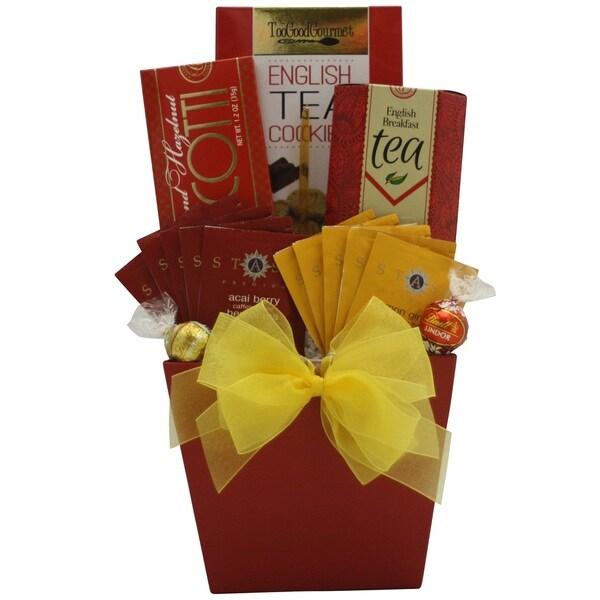 'Tea Delights' Gourmet Tea Gift Basket