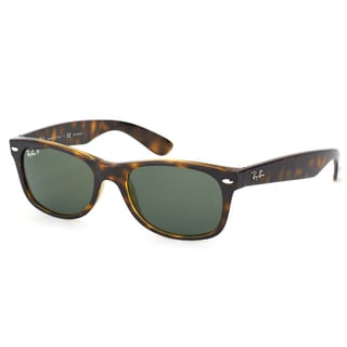discount ray ban new wayfarer sunglasses  ray ban new wayfarer rb 2132 902/58 tortoise wayfarer plastic 52mm sunglasses