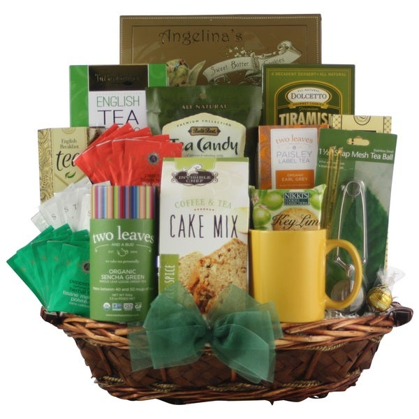 For the Love of Tea Gourmet Tea Gift Basket