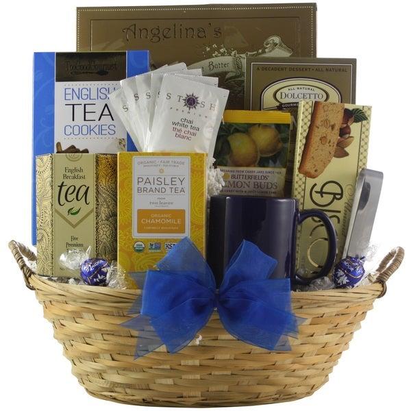 Tea Connoisseur Gourmet Tea Gift Basket