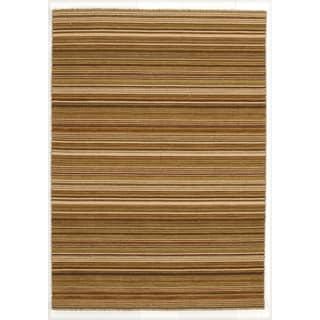 Handmade Flat Weave Reversible Area Rug  (5' x 7')