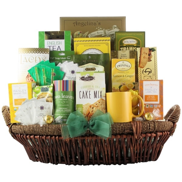 'Tea Lovers Dream' Gourmet Tea Gift Basket