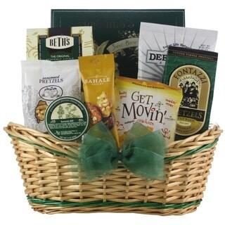 'Get Movin'' Snacks Get Well Gift Basket