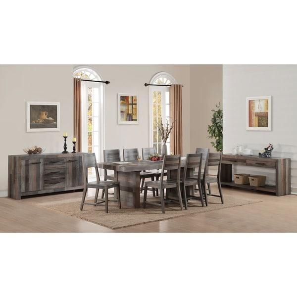 Oscar Reclaimed Wood Armless Dining Chair By Kosas Home