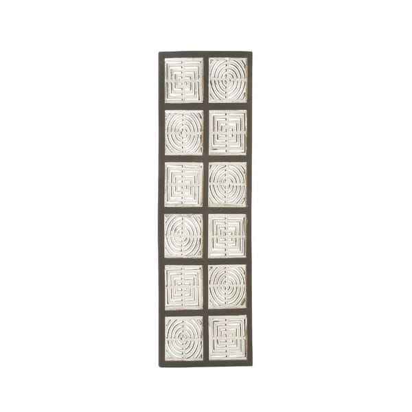 23760 Charming Wood Metal Wall Panel