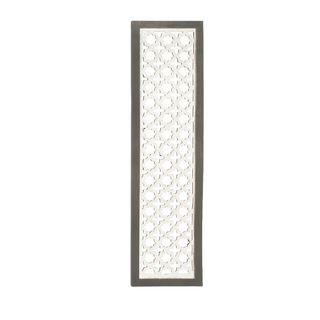 23747 Charming Wood Metal Wall Panel