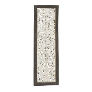 Traditional Wood Metal Wall Panel