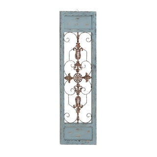 Rusty And Attractive Wood Metal Wall Panel