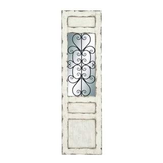 Irish White Coppice Metal Wall Panel