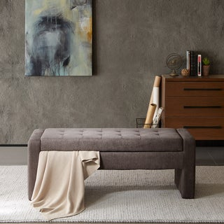Madison Park Payden Mushroom Storage Bench