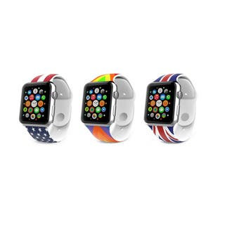 iPM Soft Silicone Flag Band for Apple Watch|https://ak1.ostkcdn.com/images/products/11830276/P18734841.jpg?impolicy=medium