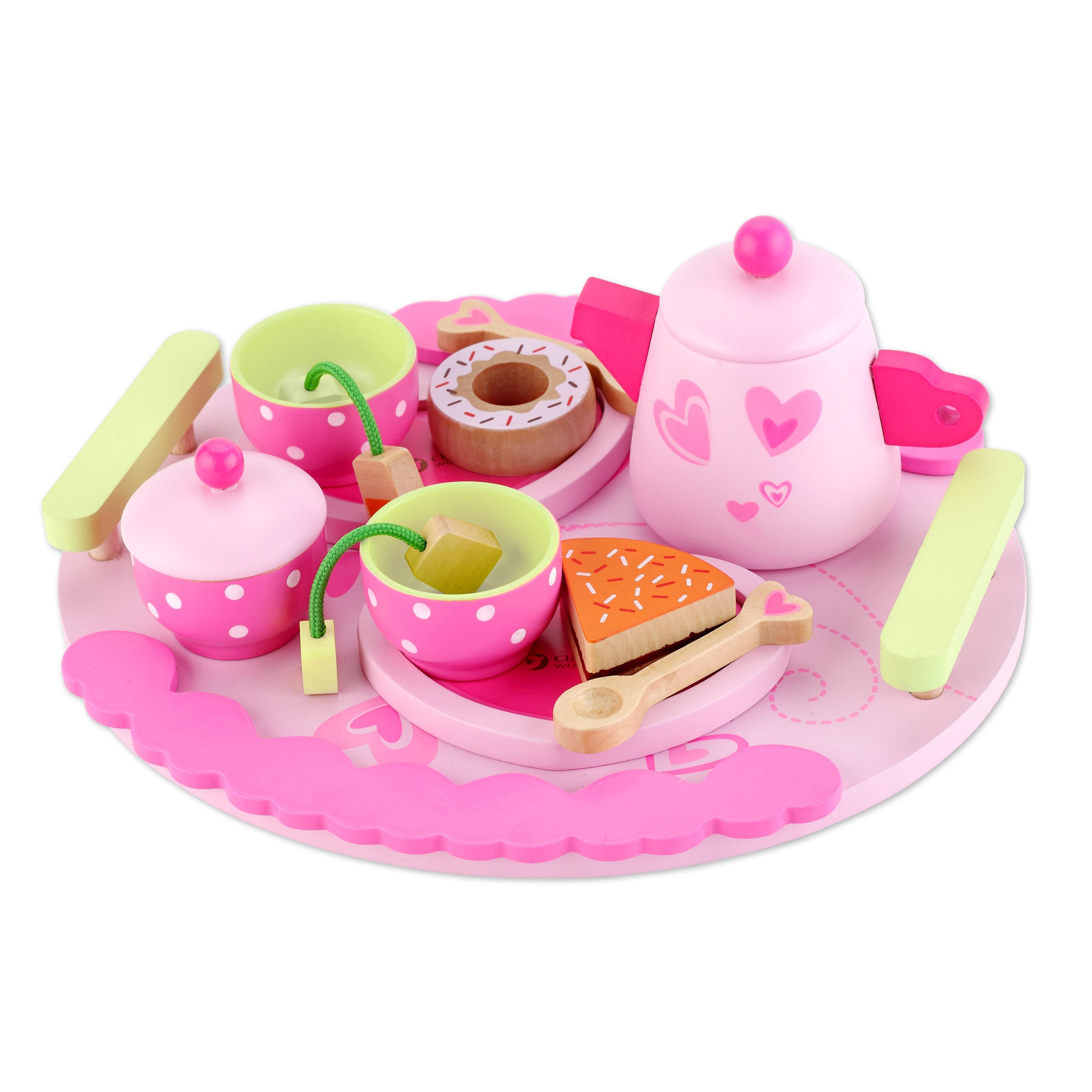Classic World Afternoon Tea Set, Pink