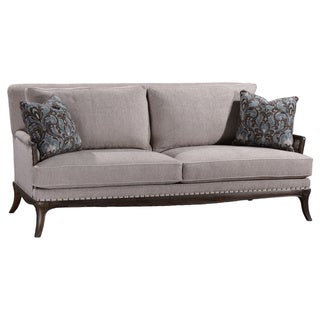 A.R.T. Furniture St. Germain Siene Pewter Upholstered Sofa
