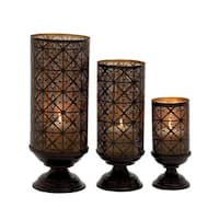 The Curated Nomad Lotta Candle Holders (Set of 3)