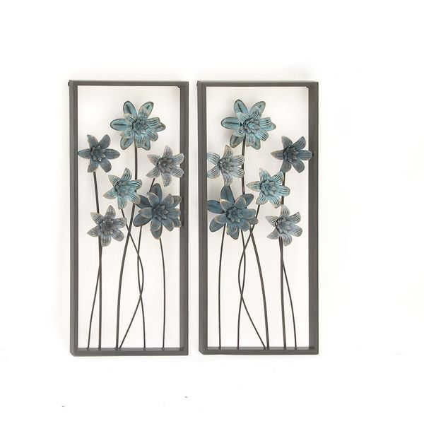 Wall Art Home Goods: Shop Attractive Metal Wall Decor Assorted 2