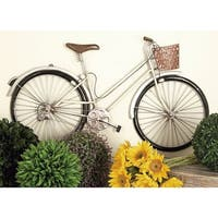 Exclusive Metal Bike Wall Decor