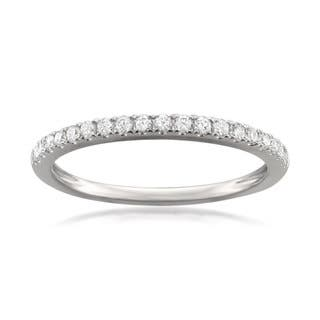 montebello jewelry platinum 14ct tdw round cut white diamond pave set wedding - Platinum Wedding Ring Sets