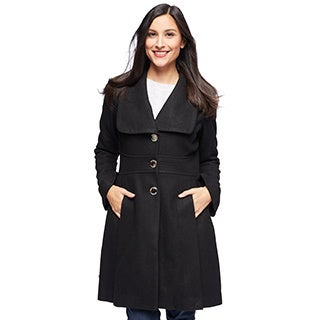 Jessica Simpson Women's Melton Outerwear