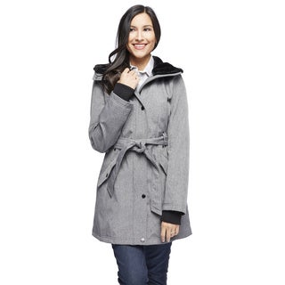 Jessica Simpson Women's Belted Hooded Coat