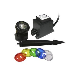 Power Beam 10 W w/ Transformermer 23 Ft. Cord w/ Color Lenses