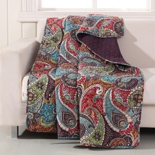 Greenland Home Fashions Tivoli Throw Quilt