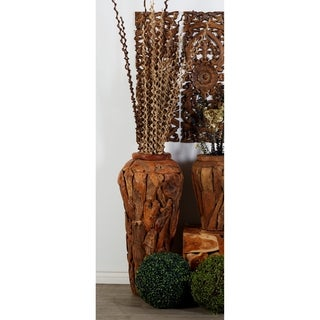 42035 Stylish Teak Stool