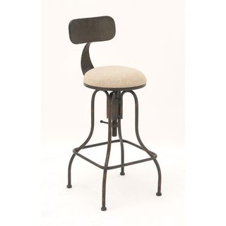 Charming Metal Bar Stool