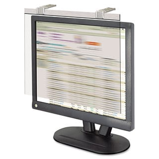 Kantek LCD Protect Privacy Antiglare Deluxe Silver Filter for 19 - 20-inch LCDs
