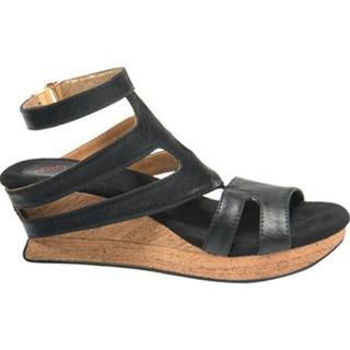 Women's MODZORI Fabia Wedge Sandal Beige/Gold/Black
