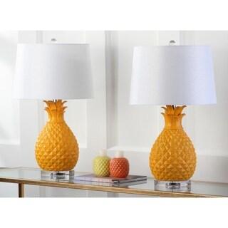 Safavieh Lighting 26.75-inch Kelly Table Lamp (Set of 2)