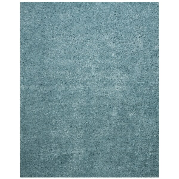 Safavieh Indie Shag Turquoise Polyester Rug (8' x 10')
